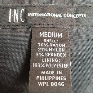 INC International Concepts Jackets & Coats - I.N.C. womens short jacket size M black